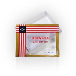 Click here to learn more about the 8oz Gift Box if purchased at the same time with ginseng roots or slices (empty - you fill).